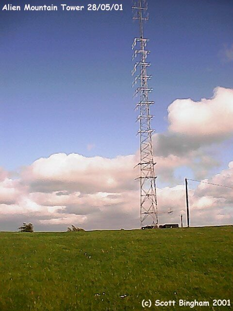 Energy mast at Alien Mountain
