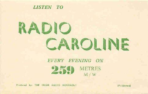 Radio Caroline Dublin