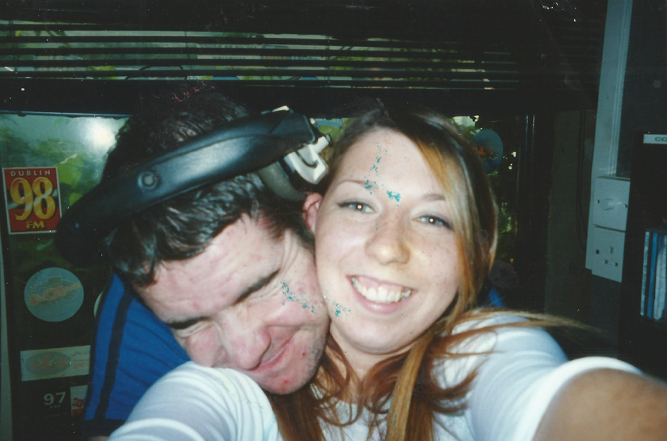 From Friday 13th September 2002 this is Mike O'Brien and Nikki (pictured) on Drive for Freedom 92FM, the Dublin pirate station. We join the shenanigans at 5pm.