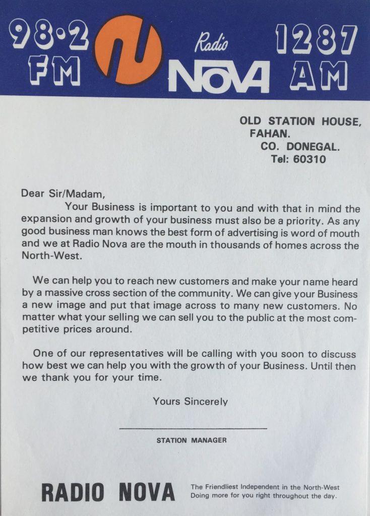 Radio Nova Fahan
