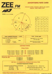 Zee 103 ratecard