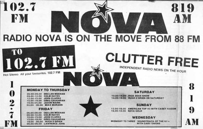Radio Nova Sunday World
