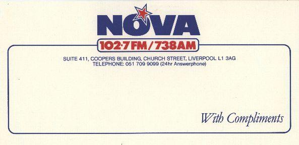 Radio Nova Liverpool office