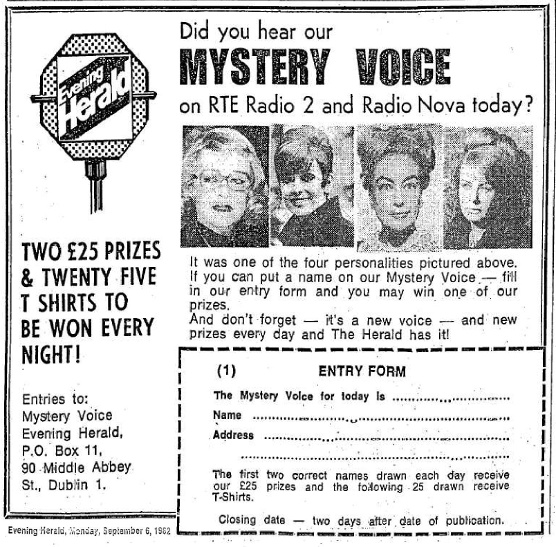 Mystery Voice - RTÉ and Nova in bed together