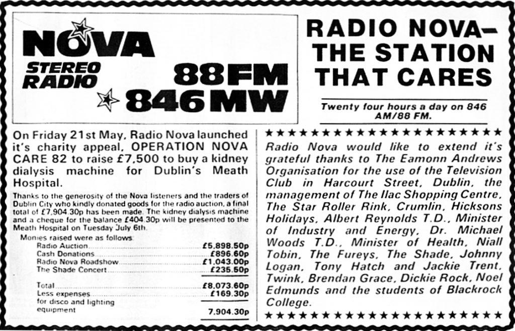 Radio Novacare 1982