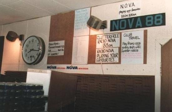Radio Nova studio