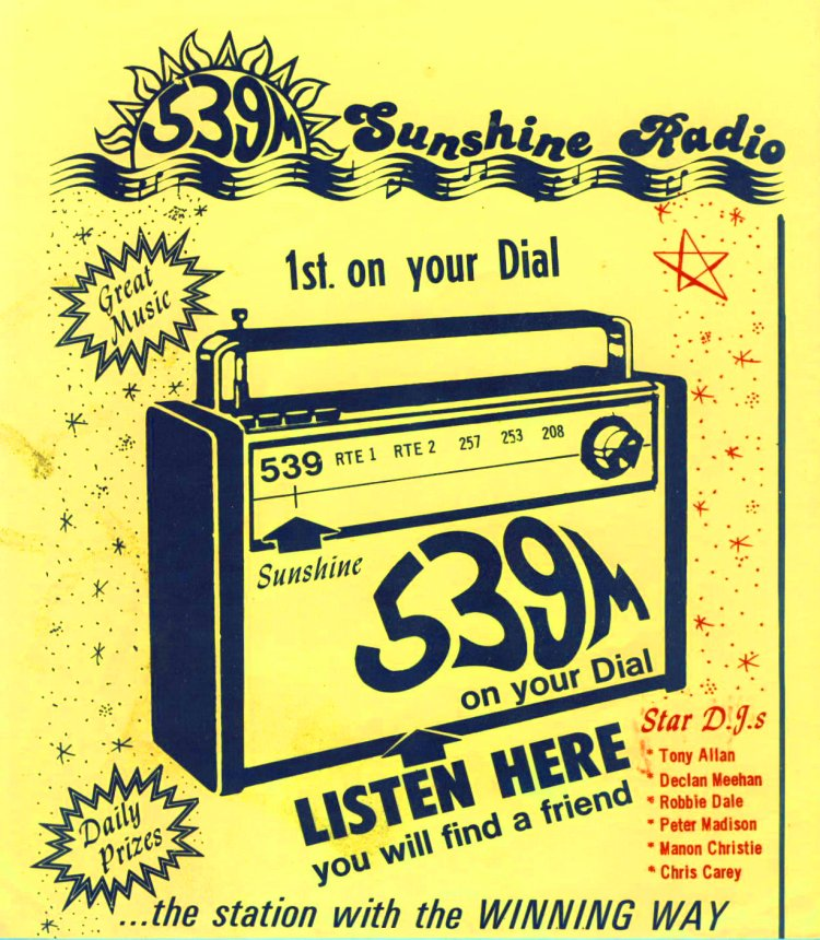 Sunshine Radio flyer