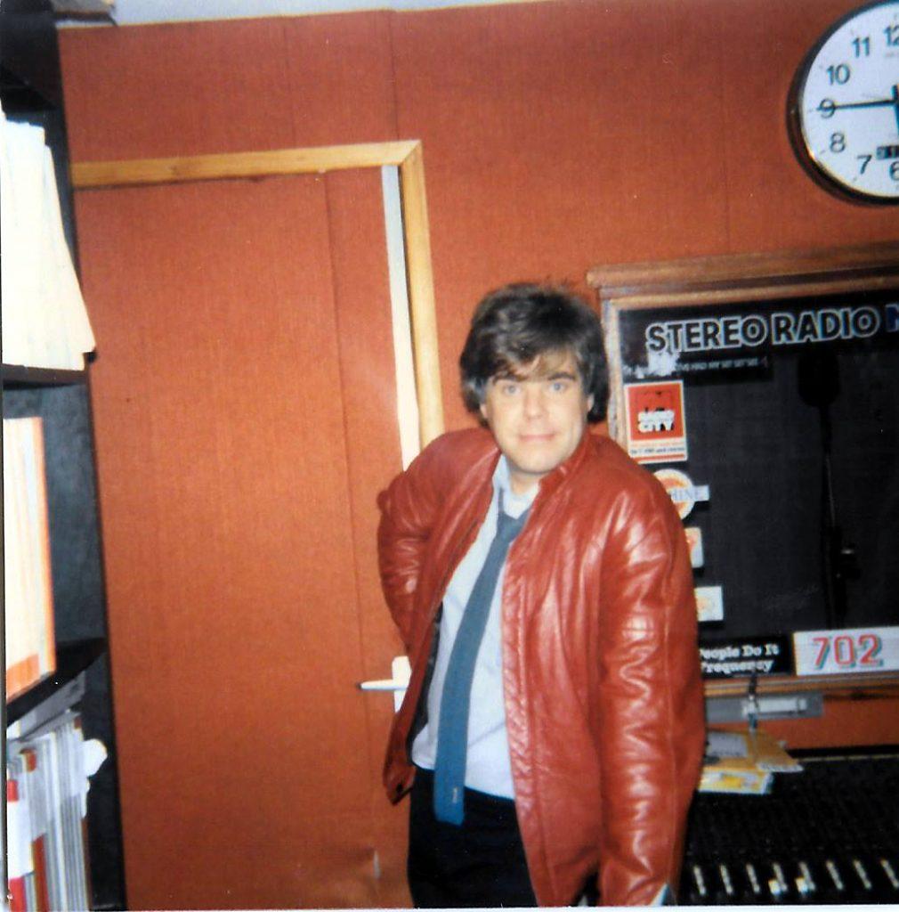 Chris Cary in the Herbert St studio