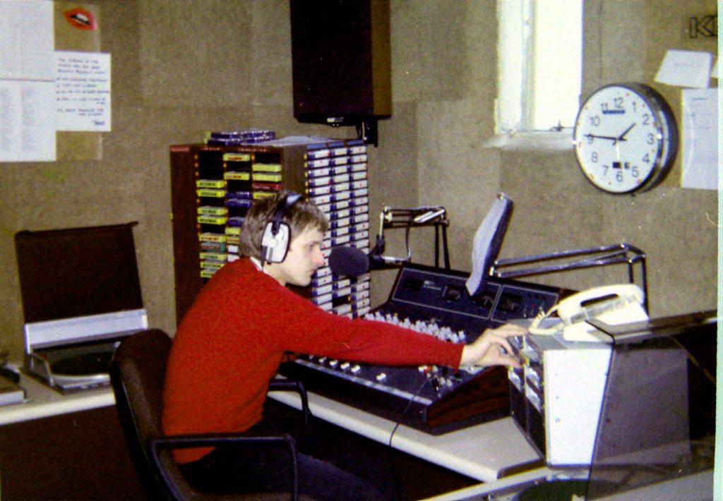 Roland Burke at Kiss FM (Nova)