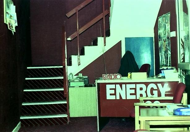 Energy 103 reception area