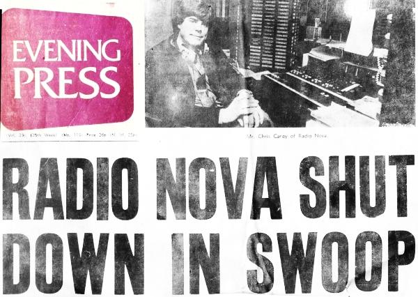 Radio Nova shut down in swoop