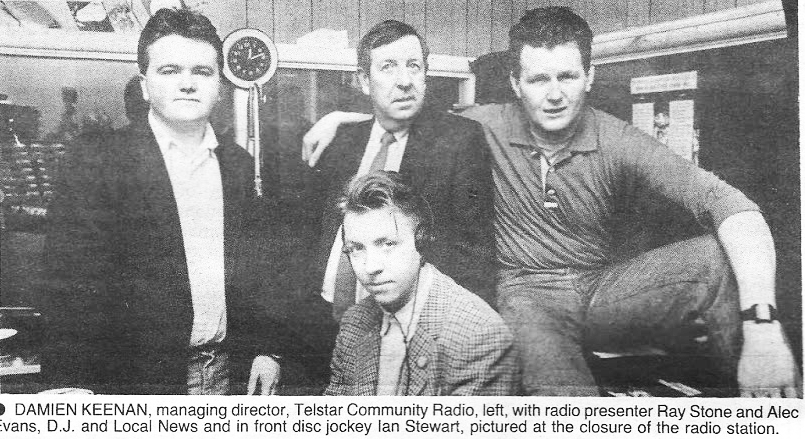Telstar Community Radio the final day