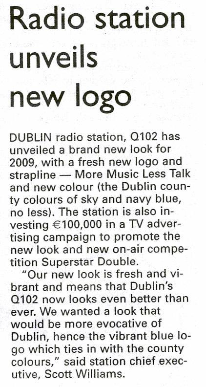 Irish Examiner - Radio station unveils new logo
