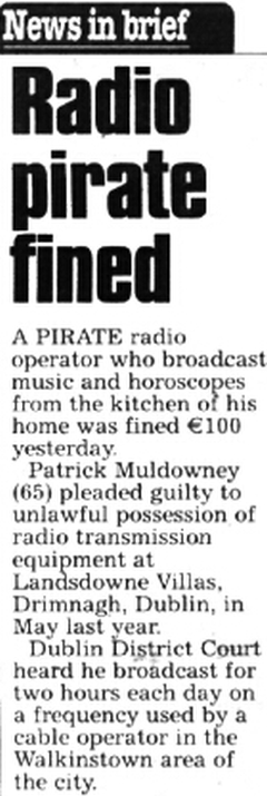The Star - Radio pirate fined