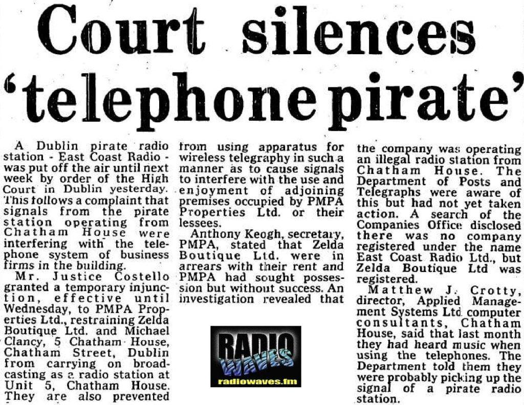 East Coast radio causes phone interference