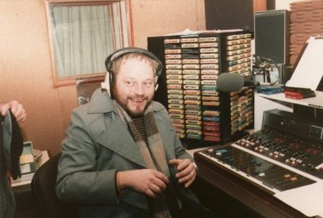 This is a recording of Peter Madison (pictured) on Radio Nova, the Dublin superpirate, on the afternoon of January 10th 1985.