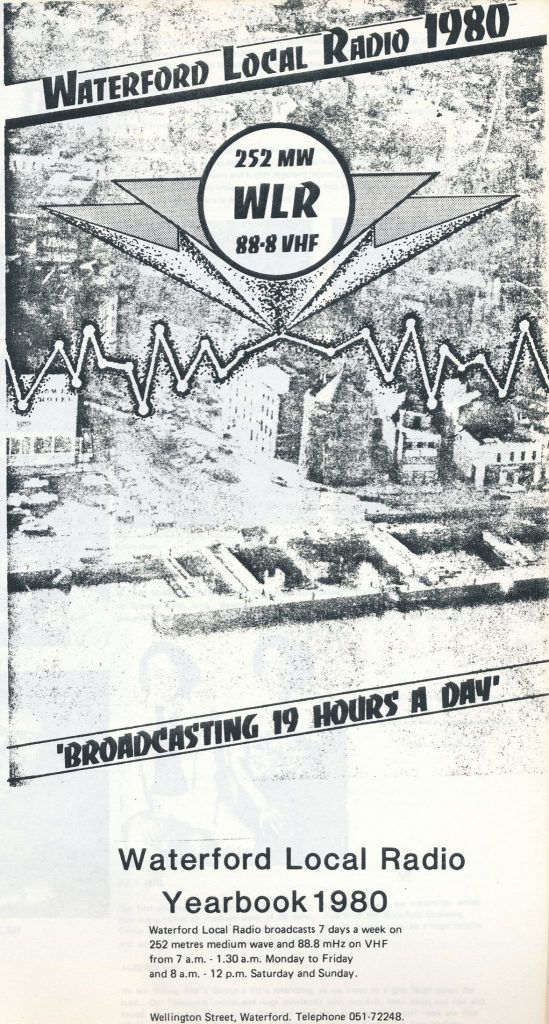This is the final 45 minutes of broadcasting from WLR (Waterford Local Radio) on December 30th 1988.