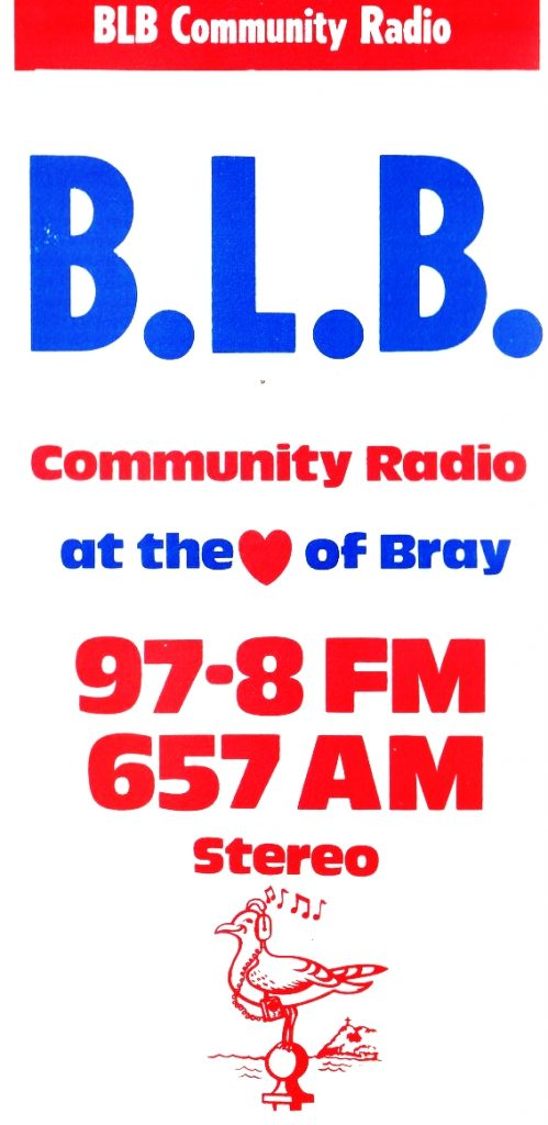 This is Mick Duggan on Bray Local Broadcasting from 9.39am on April 7th 1982. It was recorded off 657kHz.