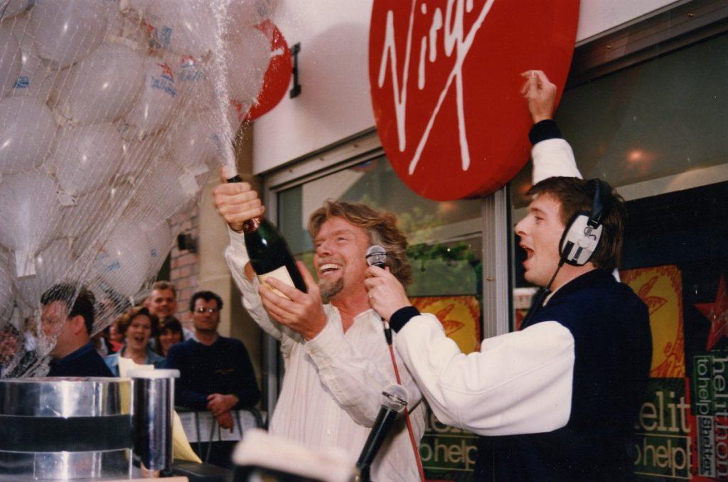 Richard Branson launches Virgin Radio