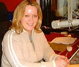 This is South East Radio, the licensed radio station serving the Wexford area. In this recording, Tracey Lee is on the air for The Full Irish Breakfast Show on the morning of October 10th 2005.