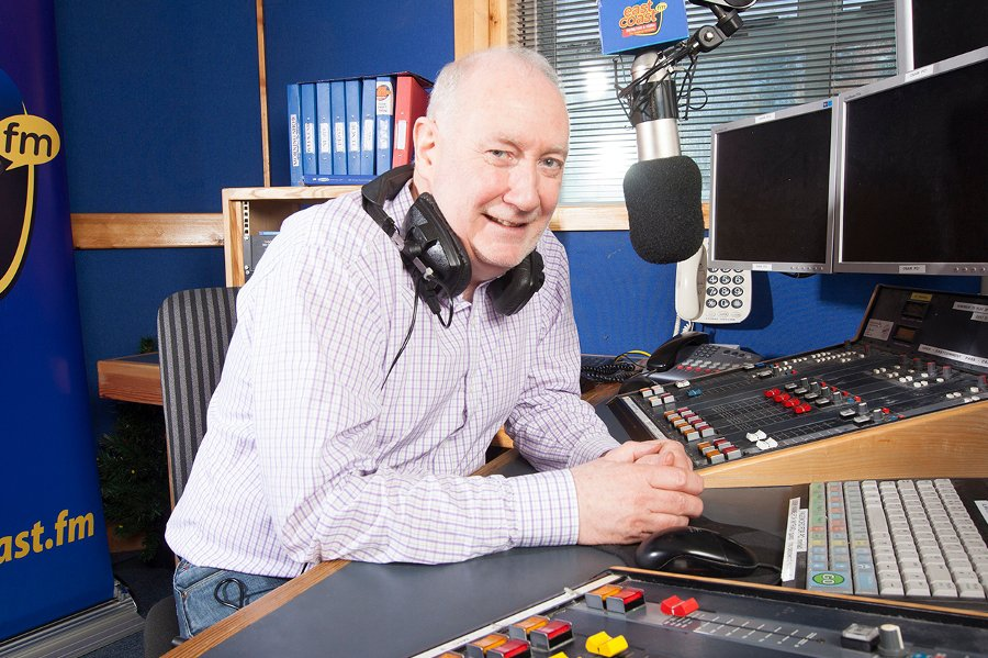 From April 14th 2000 this is a recording of Bob Gallico guesting on the Declan Meehan mid-morning show on East Coast Radio, the licensed station for Wicklow. The pair reminisce about Bob's radio career and we join the recording as Bob reveals he was working as a Double Glazing Salesman when he first joined Radio Nova...