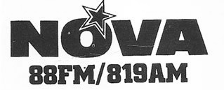 This is a recording of Declan Meehan and Bob Gallico on Radio Nova starting at 7.53am on the morning of October 27th 1982.