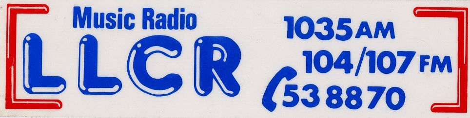 From February 23rd 1987 this is LLCR, the Dublin pirate based in the heart of the Liberties area of the city centre. The recording runs from 4.30pm through to 11pm and features 'Tony' at 4.30pm; Eddie O'Neill from 5pm; Tony Allan from 7pm and Derek Evans from 9pm.