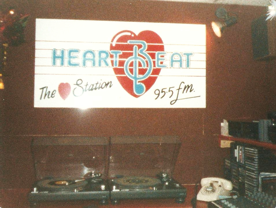 This is a short recording of the launch of Heartbeat FM, Dublin's love-songs station. The service started broadcasting at midday on November 15th 1986 with David Baker hosting a party on air!