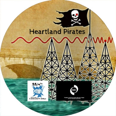 Presented and written by Pete Casey, with research by Colin Burke, this is 'Heartland Pirates', a documentary made by Athlone Community Radio which explores the history of pirate radio in the Athlone area.