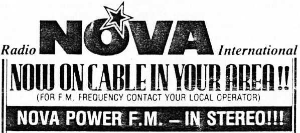 This recording of Radio Nova's satellite-delivered incarnation dates from December 17th 1988  and features the Bossman, Chris Cary, getting his hands dirty on the Nova Night Network.
