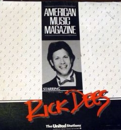 This is Rick Dees' American Music Magazine as broadcast on Dublin's Radio Nova on May 20th 1985. The recording starts just before the 9am News read by Bob Gallico.