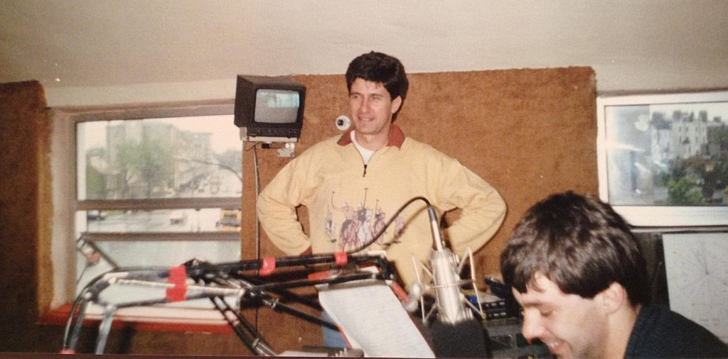 This is a recording of Energy 103 from February 26th 1987, taken from 103.0MHz. First we hear from Colm Hayes, sitting in on the Breakfast Show for Gareth O'Callaghan. He's followed by Tony McKenzie from 10am through to the afternoon. News headlines on the half-hour and full news on the hour comes from George Long.