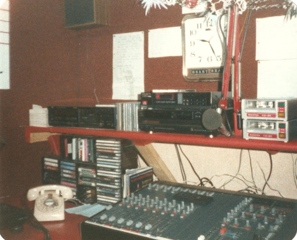 Dated February 21st 1987, this is Mike Doyle on Dublin pirate Heartbeat FM. This recording starts at 4.35pm.