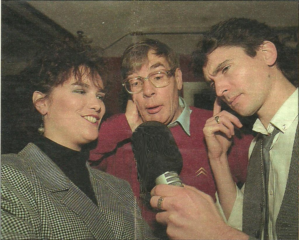 From the morning of November 5th 1987 this is a recording of The Breakfast Club from Energy 103 with Pat Courtenay, Bob Gallico and Lisa Moore, plus the usual array of comic characters.  We join the show on 103.0MHz from 7.50am.