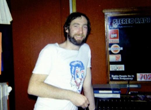 Declan Meehan in the Radio Nova studio