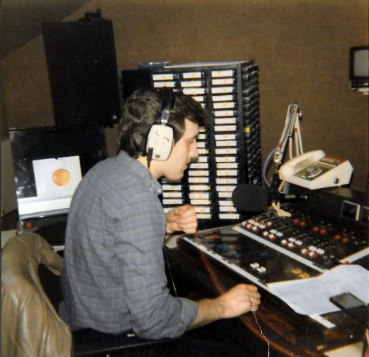 This is an afternoon recording of Greg Gaughran (pictured right) on Radio Nova from April 23rd 1984 starting at 3.30pm.
