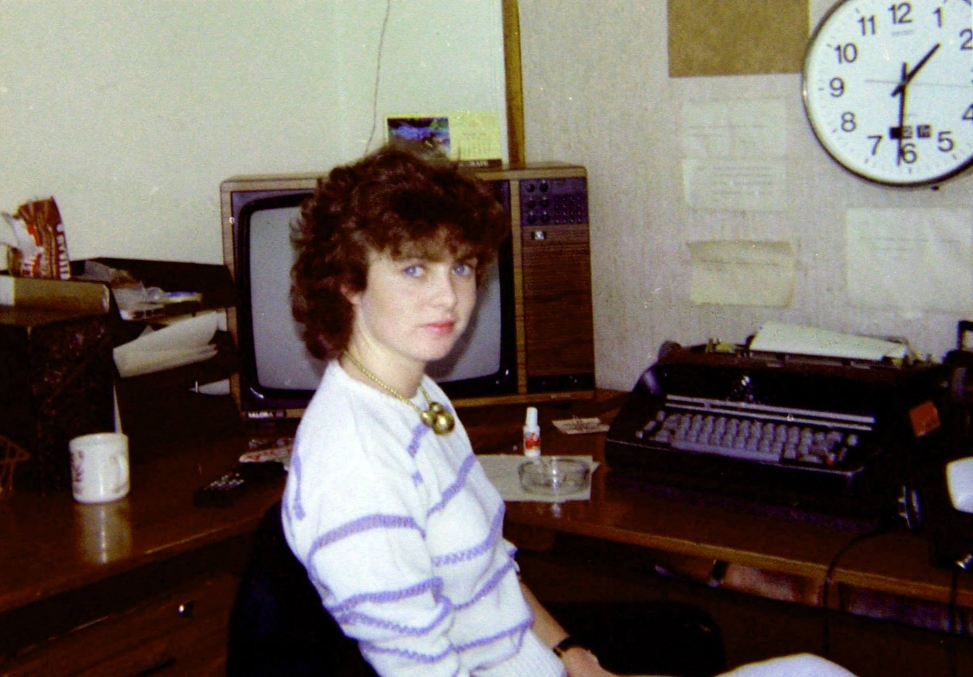 This is a recording of Radio Nova from August 12th 1983. Starting with the 3pm News read by Sybil Fennell (pictured in the Newsroom). We then have the final hour of John Clarke's programme which is followed by Greg Gaughren. Although recorded from 819kHz the station were still announcing 828kHz.