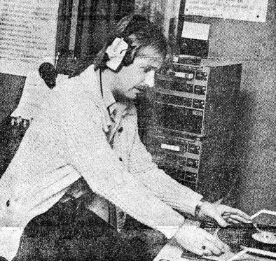 Tony Fenton at Radio Nova