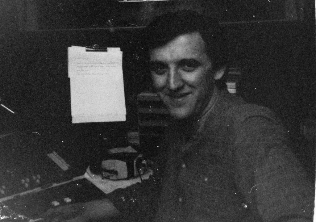 This is a recording of Greg Gaughran on Radio Nova from May 3rd 1984 starting at 5.13pm.