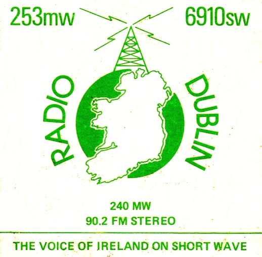 This is Mike Barron on Radio Dublin on the morning of April 10th 1983, just as the 7am News (lifted from RTÉ) is finishing.