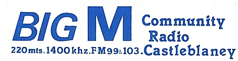 This is Monaghan pirate Big M Radio from the morning of August 7th 1985. The recording starts at 9am.