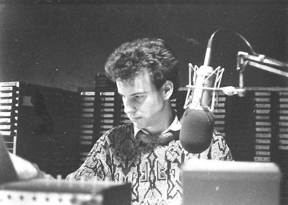 From Christmas Day 1987,  this is Cassidy Jones (pictured) on Energy 103 from 7.45am