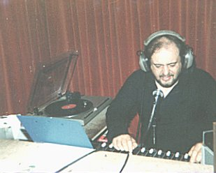 This is a recording of the Cork station Eastside Radio Ireland from October 29th 1982. Paul Graham (right) is on the air for the evening shift, which is split into two files.
