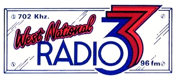 This is West National Radio 3 from the evening of July 16th 1988. Ian Davis is on air from 8.10pm on 702kHz.