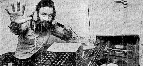 This is a recording of the ever-lively Dr Don on the Dublin pirate station ARD from October 1978. The station famously broadcast on 257metres medium wave.