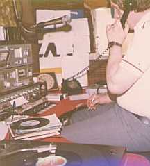 This is WKRC, a pirate station based in Newbridge, Co Kildare. Made on August 15th 1981, this recording was made by the DX Archive team during a visit to the station. The photo of Pat Martin in the studio was also taken at that time.